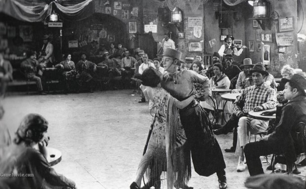 This film ignited an unparalleled worship of Rudolph Valentino. (Julio Desnoyers). The tango scene was embellished and expanded to optimally display Valentino's talents in the sensual dance.